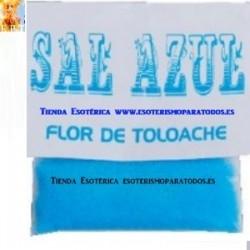 SAL AZUL O FLOR DE TOLOACHE