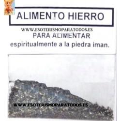 ALIMENTO HIERRO Ingrediente  Ritual
