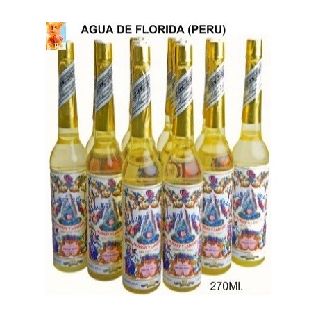AGUA FLORIDA DE PERU 270 Ml.