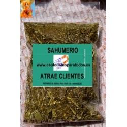 SAHUMERIOS ATRAE CLIENTES