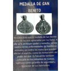 MEDALLA SAN BENITO PROTECCION