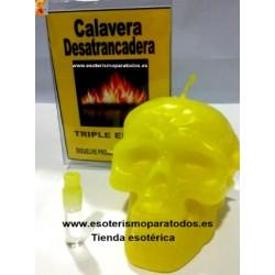 VELA CALAVERA DESATRANCADERA DE DINERO