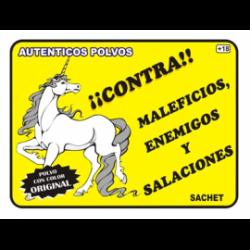 POLVO ESPECIAL CONTRA MALEFICIOS, ENEMIGOS Y SALACIONES