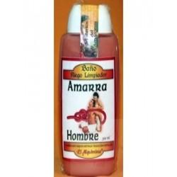 BAÑO AMARRA HOMBRE