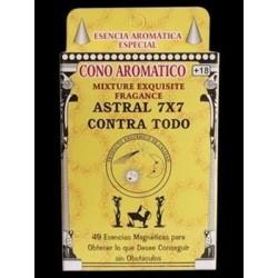 INCIENSO CONO ASTRAL 7X7 CONTRA TODO
