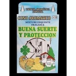 INCIENSO EN CONO BUENA SUERTE Y PROTECCION