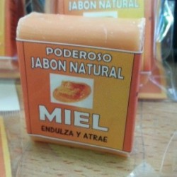 JABON DE MIEL PARA RITUALES