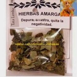 HIERBAS AMARGA