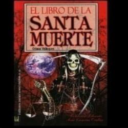 EL LIBRO DE LA SANTA MUERTE ROJO
