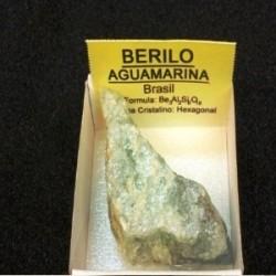 BERILO AGUA MARINA DE 4 A5 Cm.