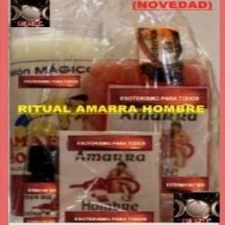 RITUAL AMARRA HOMBRE