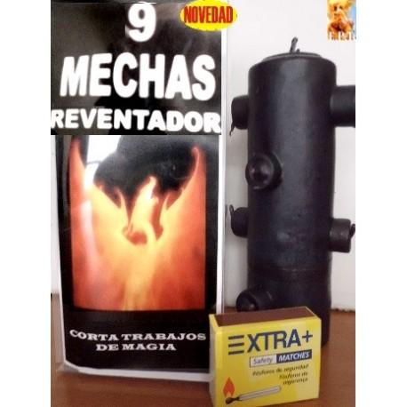 9 MECHAS VELONES