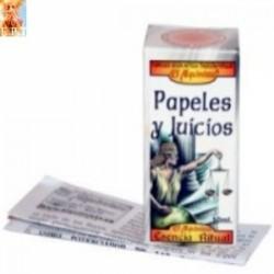 PAPELES Y JUICIO ESENCIAS