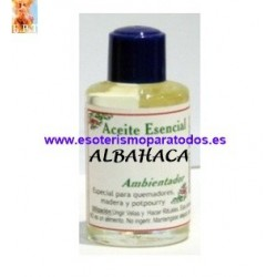 ALBAHACA: Aceite Esencial