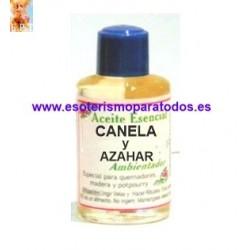 CANELA Y AZAHAR ( Aceite Esencial )