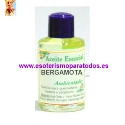 ACEITE ESENCIA BERGAMOTA