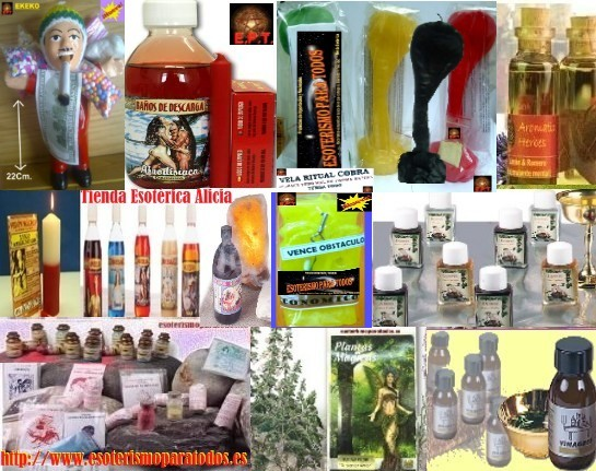 productos esotericos